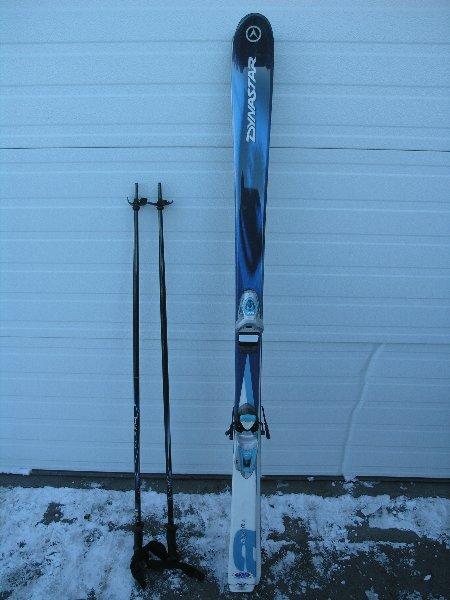Dynastar Agyl 6l Skis 154 Amp Look Binding Amp Vista Poles