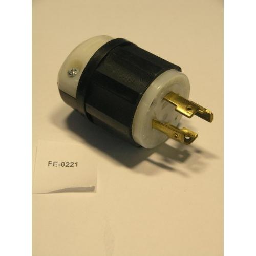 Leviton L14-30 30a 125  250v Grounding Male Plug