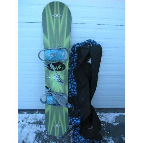 Killer Loop Fs 153cm Snowboard W Otis Bag Amp Lamar