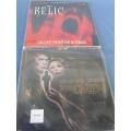 The Omen & The Relic Laserdisc Widescreen