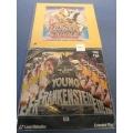 Blazing Saddles & Young Frankenstein Laserdisc Mel Brooks