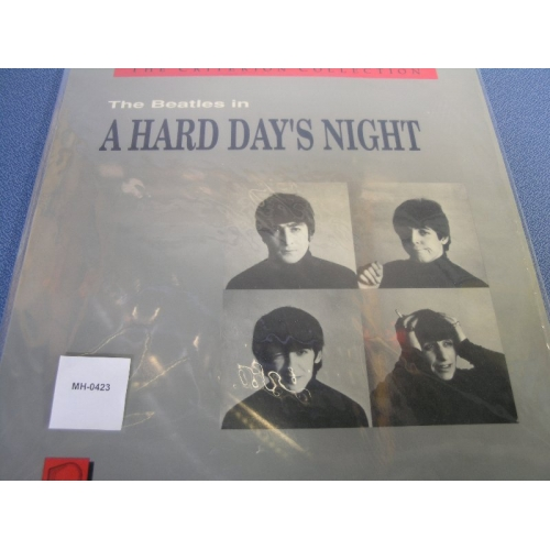 The Beatles In A Hard Day S Night Laserdisc Allsold Ca