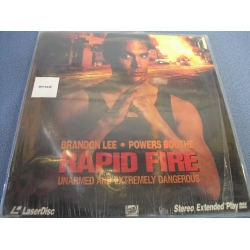 Rapid Fire Laserdisc Brandon Lee Powers Boothe Extended Play
