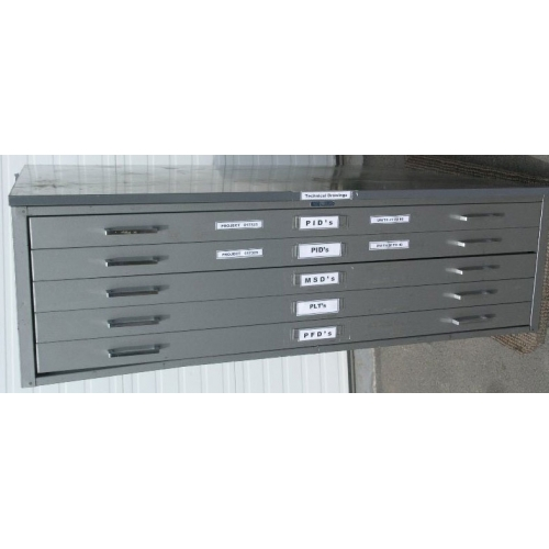 Used Kitchen Cabinets Calgary: 5 Drawer Metal Map Cabinet