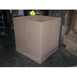 Gaylord Tri Wall Cardboard Pallet Skid Box W Base