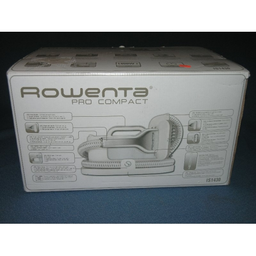 rowenta pro compact steamer how to clean