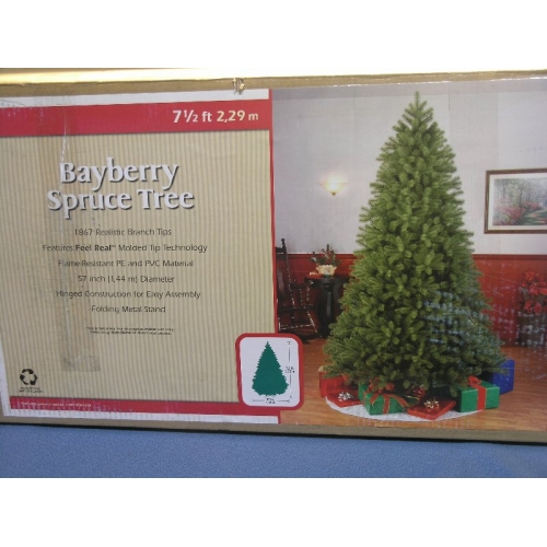 Bayberry Spruce 7 1/2 ft Realistic Christmas Tree - Bayberry Spruce 7 1/2 Ft Realistic Christmas Tree - Allsold.ca - Buy