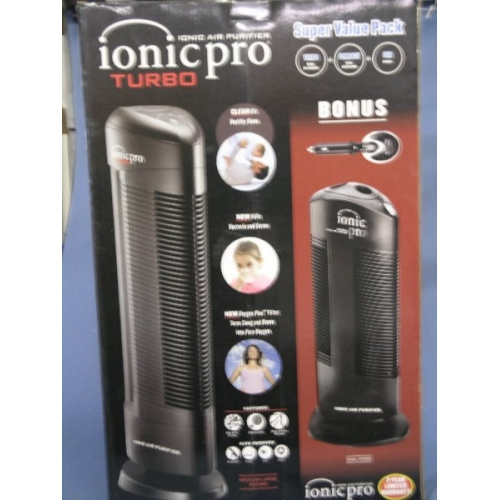 Ionic Pro Turbo Air Purifier Super Value Pack 3 For 1