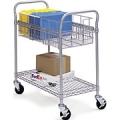 Mail File Cart  Alum 29 x 21 x 37