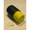 Pass & Seymour 30A Locking 4 Wire Grnd Connector L1430C