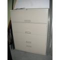 4 Drawer Lateral File Cab Bisque
