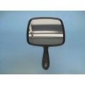 Black Jumbo Hand Salon Mirror