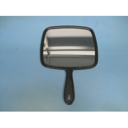 Black Jumbo Hand Salon Mirror