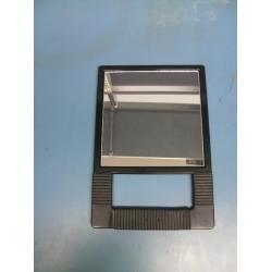 Black Handled Salon Mirror
