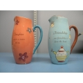 Lot of 2 Collectable Ceramic Jugs