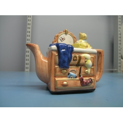 Collectable Teapot with Bear Ceramic