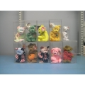 Lot of 10 Assorted Beanie Babies Baby Halloween Happy Birthday