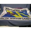 WhiteHorse 2000 Artic winter Games Banner