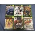 Lot of  6X Box Sports