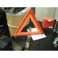 Collapsable Reflective Safety Triangle with Stand