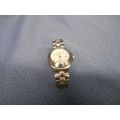 Freestyle Stainless Steel Watch with Gold Trim