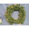 Wreath Lights up
