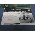 Detroit Full Vision Mirror D-6U