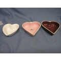 3 Chantel Heart Shaped Baking Dishes