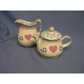 Tea Pot And Cream Jug Now N Then Englewood Ohio