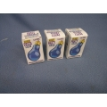 Lot of 3 60 Watt Party Bulbs