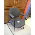 Charcoal Side/Reception Chair
