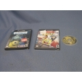 3 Game Cube Games Monster inc Wrestlemania Nicktoons