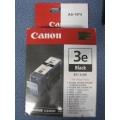 Lot of 3 Canon 3e Black BCI-3EBK Print Cartridge