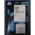 HP 17 Tricolor Ink Jet Print Cartridge
