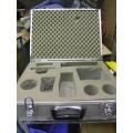 Aluminum Hard Bodied Carrying Case w Foam