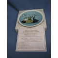 """Rockwell Newell Pottery Company """"When in Rome___"""" Plate"""