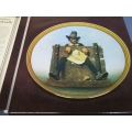"Rockwell Colonials ""De Glutton"" Colonial Rare Plate"