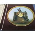 "Rockwell Colonials ""De Glutton"" Colonial Rare Plate"