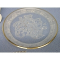 "Morgantown Crystal ""Cassiopeia"" Heavens Above Plate"