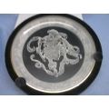 """Morgantown Crystal """"Orion"""" Heavens Above Plate"""