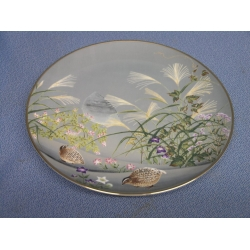 2 Birds Japanese 1979 Collection Plate