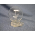 Wheat in Glass Ball with Heavy Glass Base