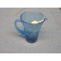 Blue Glass Small Creamer