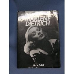 Hollywood Portraits Marlene Dietrich Book  Marie Cahill