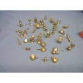 Lot of 40 Brass Collectible Miniature Figurines