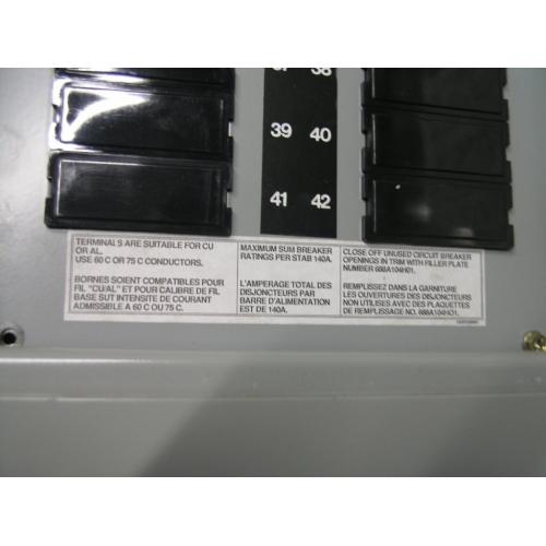 Electrical Fuse Panel Locking Door Breaker Box PRL2 - Allsold.ca ...