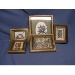 Lot of 7 Paper Toll Pictures