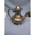 Silver Marlboro Plate EP Copper Canada Teapot