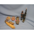 Lot of African Masks and Figurines
