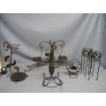 Lot 6 of Metal Candle Holders